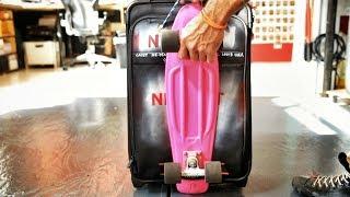 Casey Neistat - 製作可以放滑板的行李箱 (中文字幕)