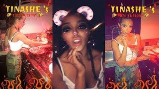 Tinashe | Snapchat Story | 9 August 2017