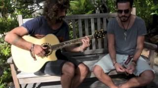 Fréro Delavega en acoustique à Nouméa