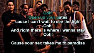 Locked Out of Heaven - Bruno Mars karaoke / with Lyrics