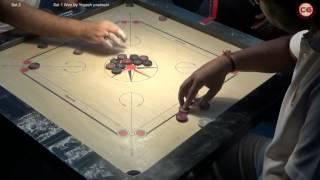 Mohammad Ghufran vs Yogesh Pardeshi Set 2 4th MCF State Ranking Carrom Tournament 26 Feb, 2017 width=