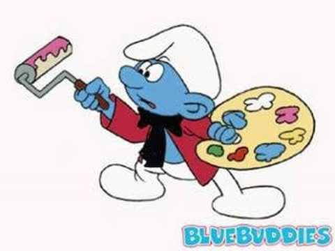 Şirinler Çocuk Şarkıları - Mavi Minikler