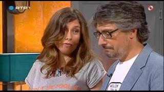 """""""Marta Hugon não quer ser entrevistada"""" - Nuno Markl - 5 Para a Meia Noite"""