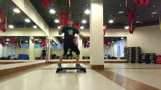 Step aerobics dance by Denis Stoyanov 24.01.2017