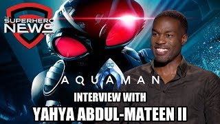 Aquaman Interview: Yahya Abdul-Mateen II on Black Manta, Helmet Challenges, and Sequel Hopes