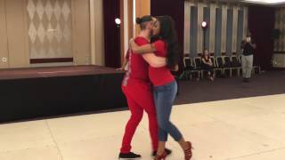Isabelle & Felicien dancing Kizomba (Song: Phyllisia Ross - Can't Resist)