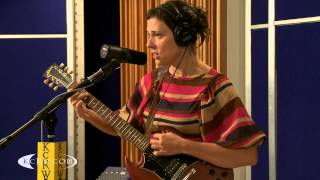 """Laetitia Sadier  performing """"Find Me The Pulse Of The Universe"""" live on KCRW"""