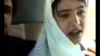 Pashto Local Hot Girl Kissing in Car width=