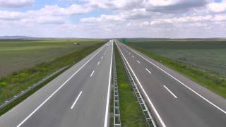 Mouvee - free stock footage - highway cars traffic overpass montage