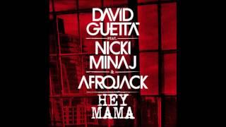 David Guetta Ft. Nicki Minaj - Hey Mama (Afrojack Remix) (Bass Boosted)