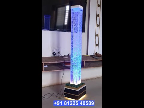 Water Bubble Standee Pillar Decor +91 81225 40589