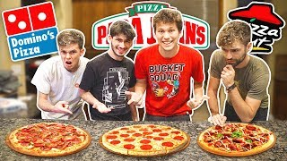 Who Makes The BEST PIZZA?!