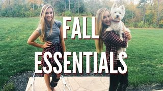 FALL ESSENTIALS 2015: Outfits, Makeup, & Food!