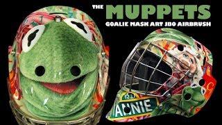 Muppets / Sesame Street Goalie Mask: Airbrush Art