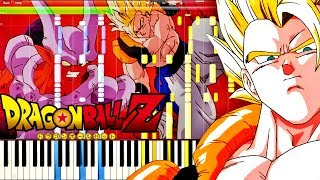 Dragon Ball Z OST - Gogeta's Theme | Piano Tutorial