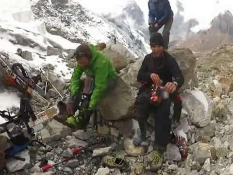 NEPAL, Esquiant a l'Himalaya, octubre 2012