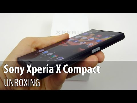 Sony Xperia X Compact Unboxing în Limba Română