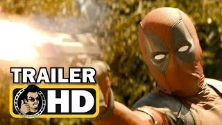 DEADPOOL 2 Official Red Band Trailer #2 (2018) Ryan Reynolds Marvel Movie HD