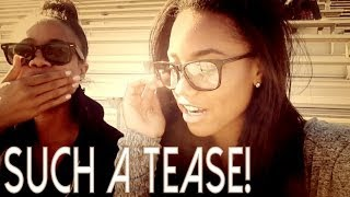 SUCH A TEASE! | cchristinevlogs