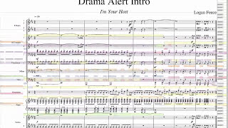 Drama Alert Opening ORCHESTRATED WITH SHEETS + MIDI