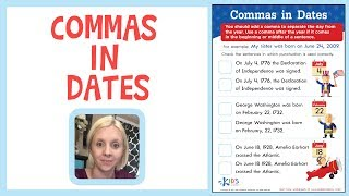 Commas in Dates - Learn Punctuation | Kids Academy