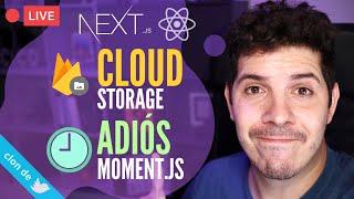 Subiendo imágenes a Cloud Storage y creando un Timeago de forma nativa sin Moment.js