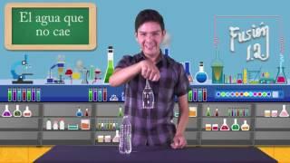 Fusión I.Q. 24 Agua que no se cae (Presión Atmosférica)
