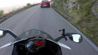 "Aprilia RS4 50 VS Alfa Romeo Stelvio ""First Edition"" spotted on Montecassino - GoPro HERO5"
