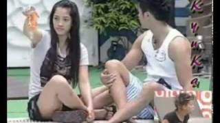 """"""" staring contest"""" Eh for sure, talo si Pamu diyan :) #MUVIN"""