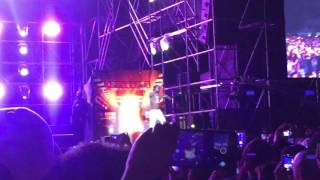 Wiz Khalifa-Balck and Yellow First live in Seoul,Korea.