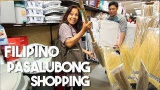 Filipino Pasalubong Shopping with My Mom
