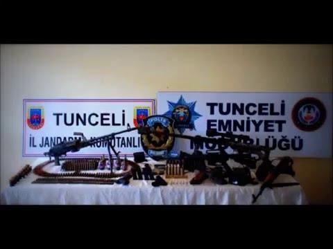 Teröristlerin el yapımı silahı