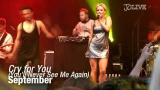September - Cry for You (You'll Never See Me Again) - LIVE Borås Sommartorsdagarna 2011