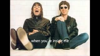 Oasis - Up in the sky - Lyrics and photos