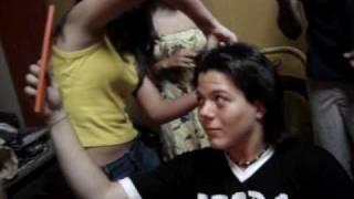 Corte de cabelo do Juliano Samambaia
