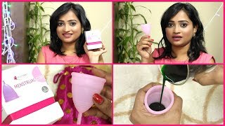 How to Use Menstrual Cup? How to insert & Remove it? Sharing my Own Experience about Menstrual Cup width=