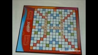 Je t'aime I Love You Te Quiero - Scrabble Tiles Stop Motion Animation [www.ScrabbleBubble.com]