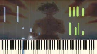 Boku no Hero Academia OST - Beautiful Emotional Piano tutorial (Synthesia)