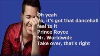 Back it up - Prince Royce feat. Jennifer Lopez & Pitbull HD lyrics