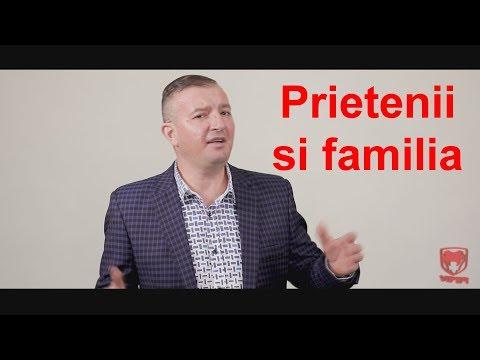 Calin Crisan - Prietenii si familia