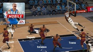 NBA LIVE Mobile Android Gameplay