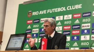 Luís Castro aponta razões para a derrota do Rio Ave frente ao Benfica
