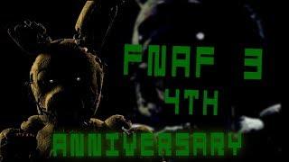 [FNAF3\SFM] FNAF 3's 4th Anniversary