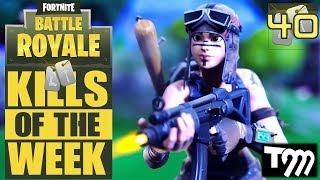 Fortnite Battle Royale - Top 10 Kills of the Week #40 (Best Fortnite Kills)