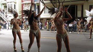 San Francisco Carnaval Grand Parade 2017 Aquarela Brazilian Dance Ensemble