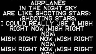 B.o.B. ft. Hayley Williams - Airplanes Lyrics