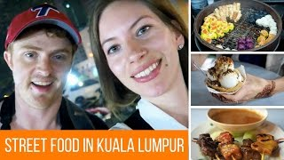 Malaysian Street Food Tour in Kuala Lumpur, Malaysia at Jalan Alor Street Night Market