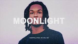 """[무료비트] Saba x J Cole x Isaiah Rashad Type Beat """"MOONLIGHT"""" DanceHall Trap Instrumental 2018 타입비트"""
