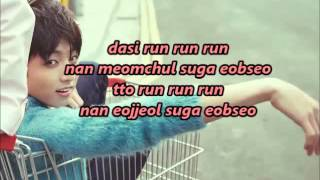 BTS (방탄소년단)- RUN (Ballad Ver.) Romanized Lyrics [Coded]