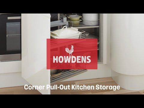 Corner storage accessory